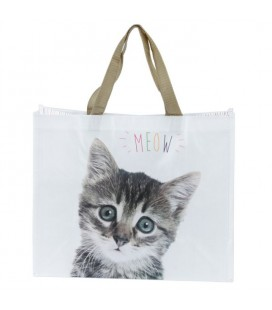 Sac de courses Chat Meow