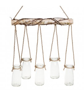 Suspension 5 vases