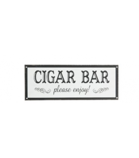 Plaque murale CIGAR BAR