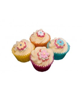 Mini Cupcake Flower power